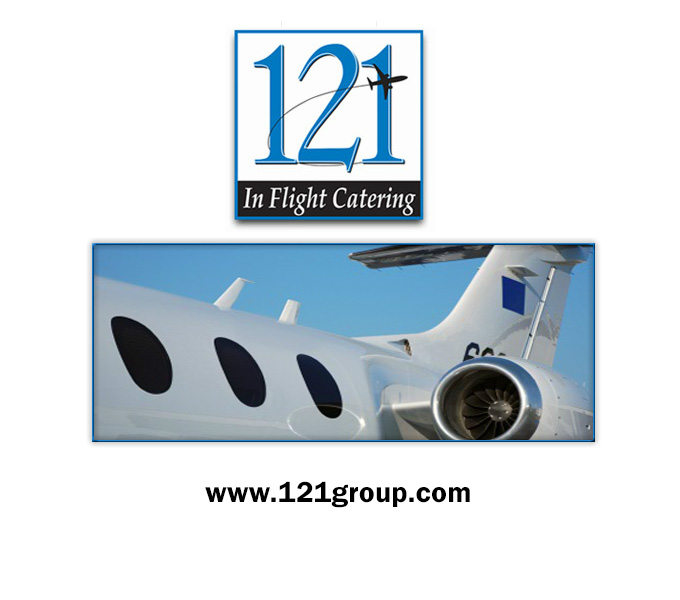 121 Inflight Catering Logo