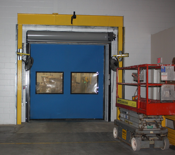 insulated cold storage doors