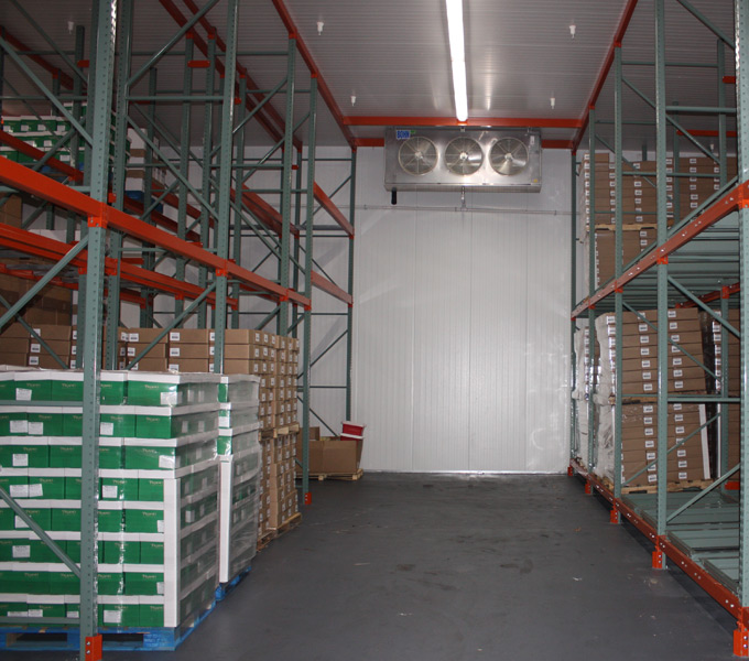 pallet racking systems installed by accurate refigeration design